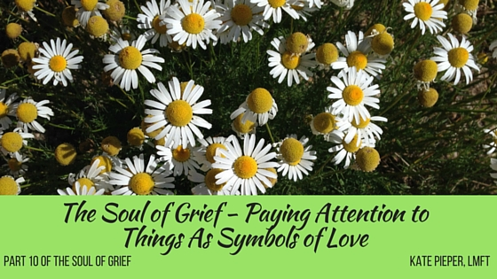 transitional objects for grief